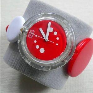 Rare Red & White POP Swatch ❤️🤍